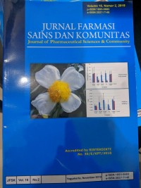 Image of Jurnal farmasi Sains Dan Komunitas