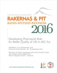Image of Proceeding Book : Rakernas & PIT Ikatan Apoteker Indonesia 2016